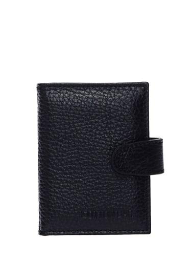 Cotton Bar 62Alt 109 Portfoy Deri Erkek Cüzdan Siyah